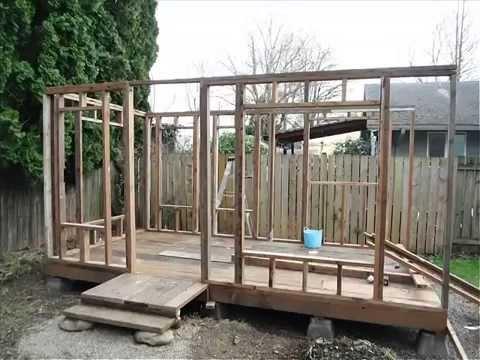 7 Week Tiny House Build Youtube