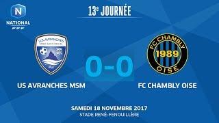 Avranches vs Chambly full match