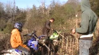 2 and 4 Stroke Bikes Mudding