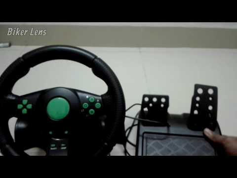 Vibration Steering Wheel Unboxing And Review | Gaming