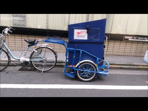 Bicycle cargo trailers JAPAN 自転車のトレーラー