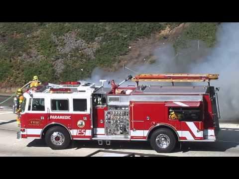 Car Fire - Ô tô chữa cháy, ô tô tải và xe cứu hỏa