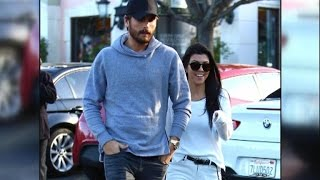 Kourtney Kardashian Is All Smiles Reuniting With Scott Disick For Lunch