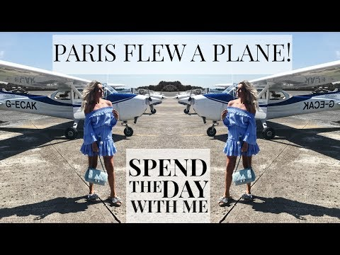SPEND THE DAY WITH ME | PARIS FLEW A PLANE | IAM CHOUQUETTE