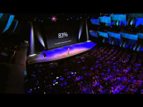  Apple Pay introduced by Eddy Cue