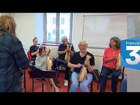 2 - Lyre Academy et Ar Bard | Atelier Skald | France 3 émission lyre gauloise |