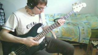 Jurassik Funk - Puppet Masters [Bass Cover]