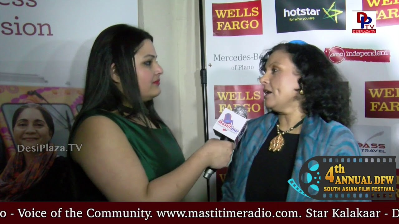 "Saila Kariat, Director, Writer & Producer of ""The Valley""  speaking to  Desiplaza TV"