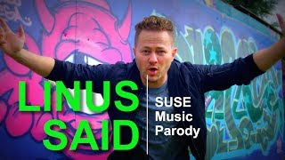 Linus Said - Music Parody (Momma Said)