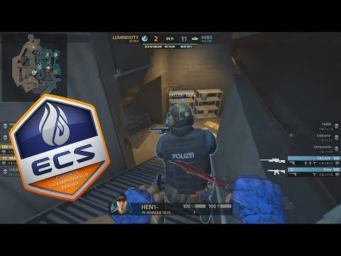 ECS S6 - MIBR vs Luminosity - FalleN GETS KNIFED!! - Highlights - CS:GO