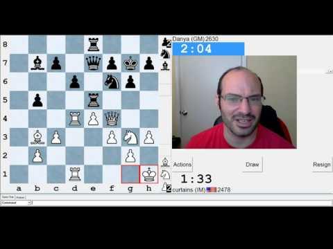 5 minute chess #628: IM Greg Shahade vs GM Daniel Naroditsky
