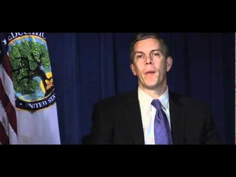 Secretary of Education Arne Duncan Speaks to Bush School Students