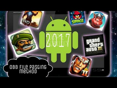 Procedure To Run Any Android Game Of Obb File Or High Quality Game 2017.