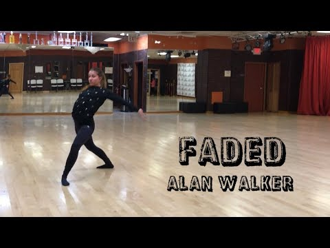 Faded (Alan Walker) - contemporary dance choreography