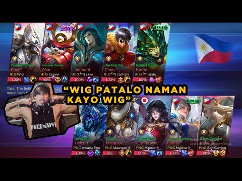 ETO BA YUNG 100K NA KALABAN NAMEN? WITH PNG SQUAD PREGAME 5vs5 AE ML o AKO vs PNG