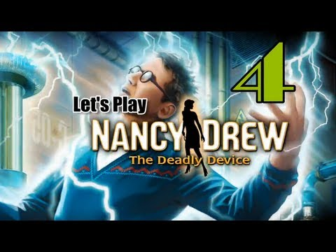 Nancy Drew 27: The Deadly Device [04] w/YourGibs - HACKING SECURITY SYSTEM