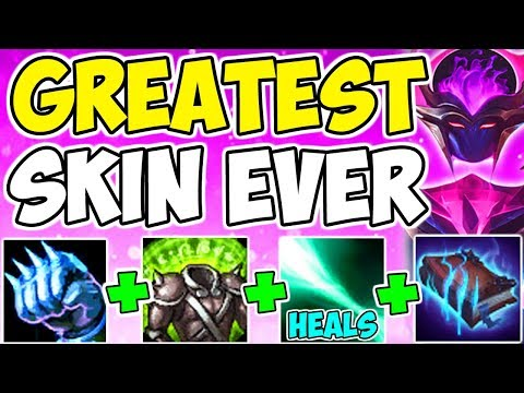 NEW DARK STAR KARMA SKIN!! Insane Tank Healing HP Armor Magic Resist Build Top League Of Legends S9