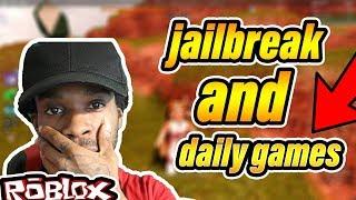JAIL BREAK VIP SERVER GETTING MONEY DUNGEON QUEST (ROBLOX)