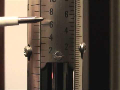 Princo Mercury Barometer