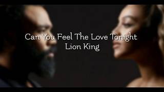 Can you feel the love tonight -Beyoncé,Donald Glover