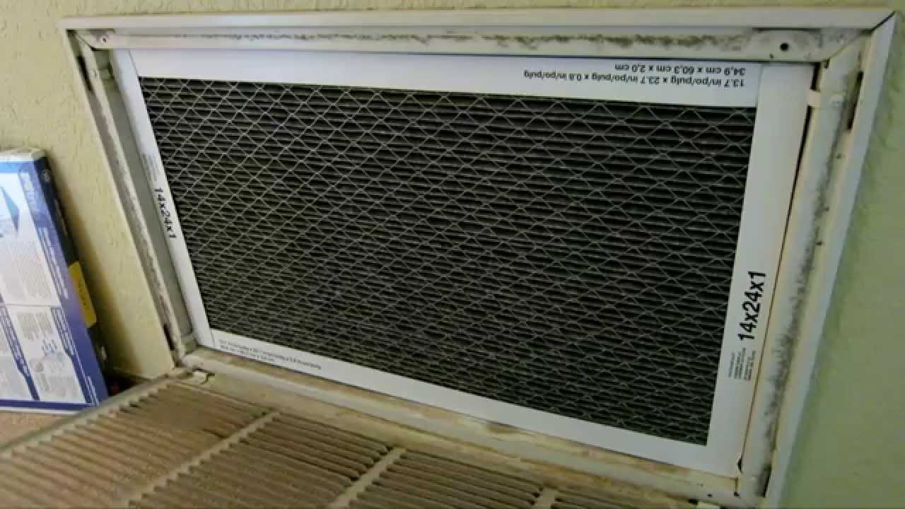 How to replace HVAC AC Furnace Air Filter - What You Might ...