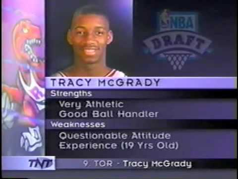 1997 NBA Draft- Tracy McGrady (9)