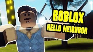 Greetings, Neighbor! Alpha II - ROBLOX HELLO NEIGHBOR