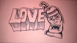 Download Video Cara gambar grafiti LOVE dan PILOXS mudah MP3 3GP MP4