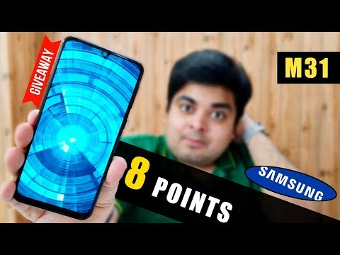 SAMSUNG GALAXY M31 - Review After 30 Days Of Use | 8 MAJOR POINTS 🔥[GIVEAWAY]