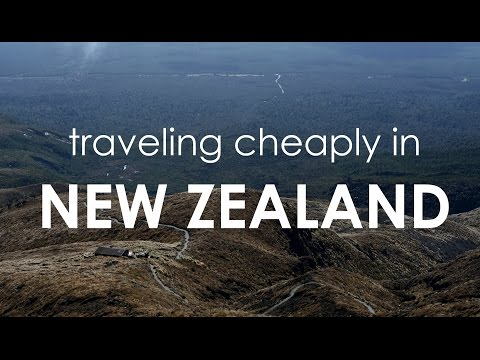 Traveling Cheaply in New Zealand