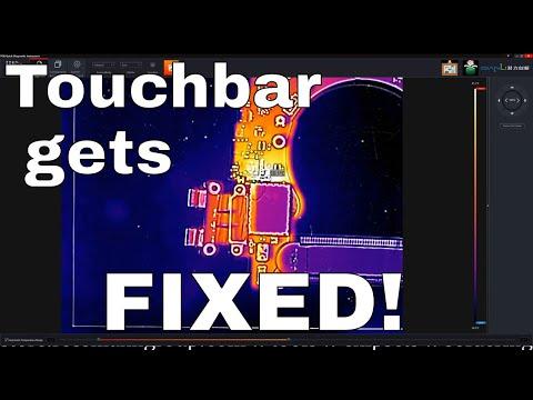 820-00239 A1706 Macbook Pro Touchbar board repair ATTEMPT