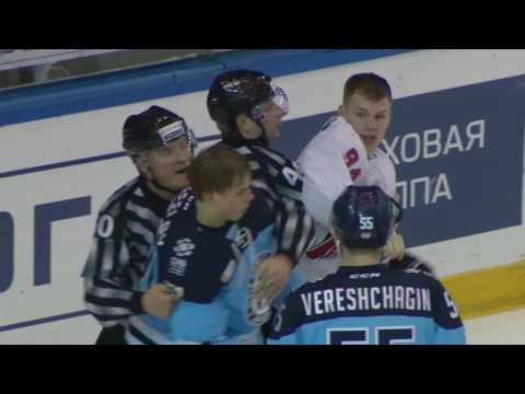 KHL Fight: Fefelov VS K.Semyonov