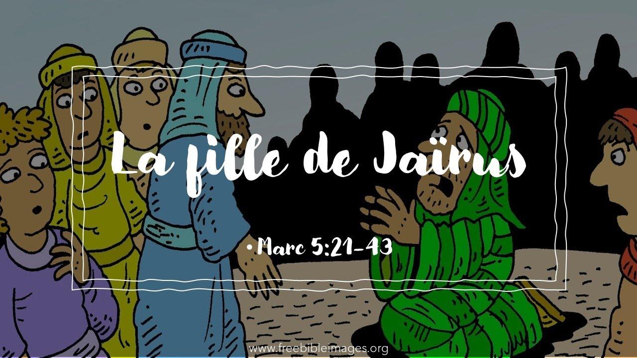 La fille de Jaïrus | Marc 5:21-43 - YouTube
