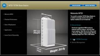 Motorola MTS1 TETRA  Base Station product Tour