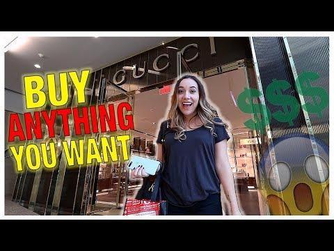 SURPRISING MY LITTLE SISTER! (BUY ANYTHING YOU WANT)