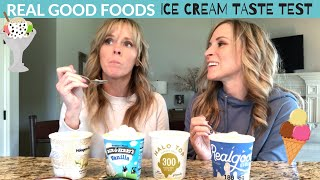 Real Good Foods Ice Cream Taste Test - Honest Review of Flavors