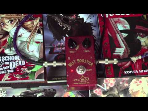 HAO Rust Booster Guitar demo