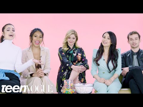 """Pretty Little Liars: The Perfectionists"" Cast Plays &39;I Dare You&39;  Teen Vogue"