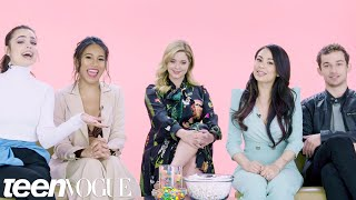 """""""Pretty Little Liars: The Perfectionists"""" Cast Plays 'I Dare You' 