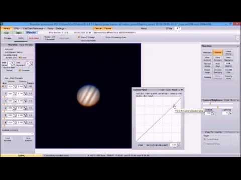 Tutorial, iCap 2 3, PIPP, Registax 6 1, for Jupiter, 9-6-14