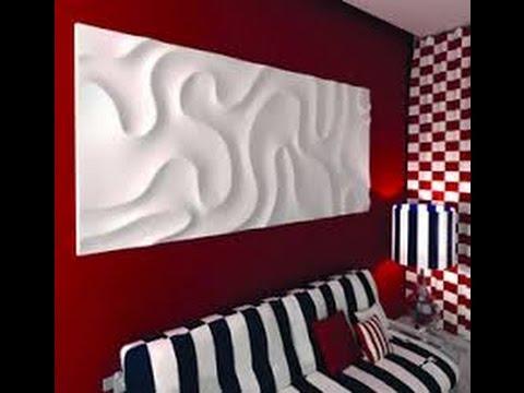Видеозапись изготовление гипсовой светящейся 3D плитки
