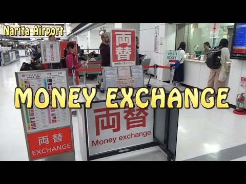 TOKYO.【成田空港】Money Exchange at Narita Airport(Terminal-2)