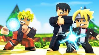 Sasuke Uchiha #2-The ENCOUNTER OF SASUKE, BORUTO and NARUTO (ROBLOX)
