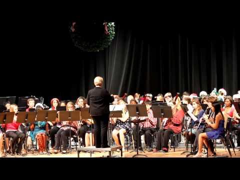 Carol of the Bells  CyCreek Concert Band  121112
