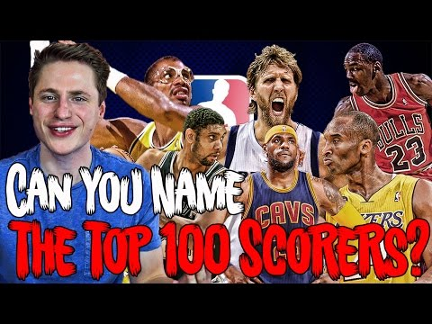 Can YOU Name The Top 100 Scorers in NBA History?