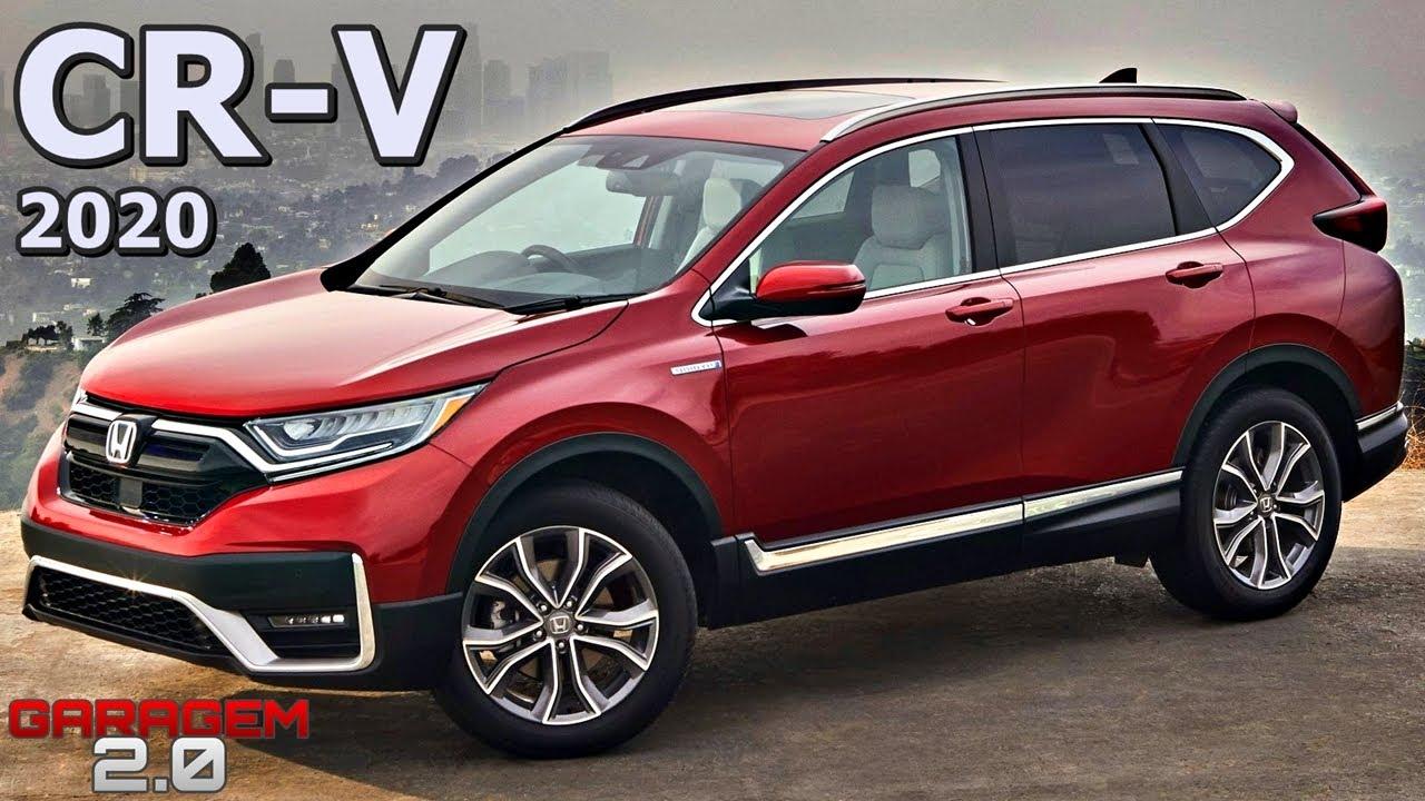 Novo Honda Cr V 2020 Facelift Youtube