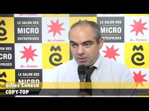 Gilles conesa copy top au salon des micro entreprises 2011 youtube - Salon des micro entreprise ...
