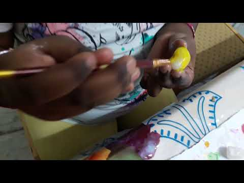 How To Colour Pebbles