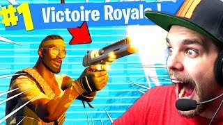 TOP 1 UNIQUEMENT AU PISTOLET sur FORTNITE: Battle Royale !!