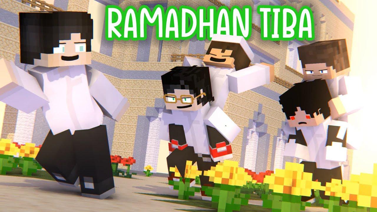 Download Ramadhan Tiba Animasi Minecraft [remake] - NightD, Mefelz, Zenmatho, Beller, Adit, HaydarCraft